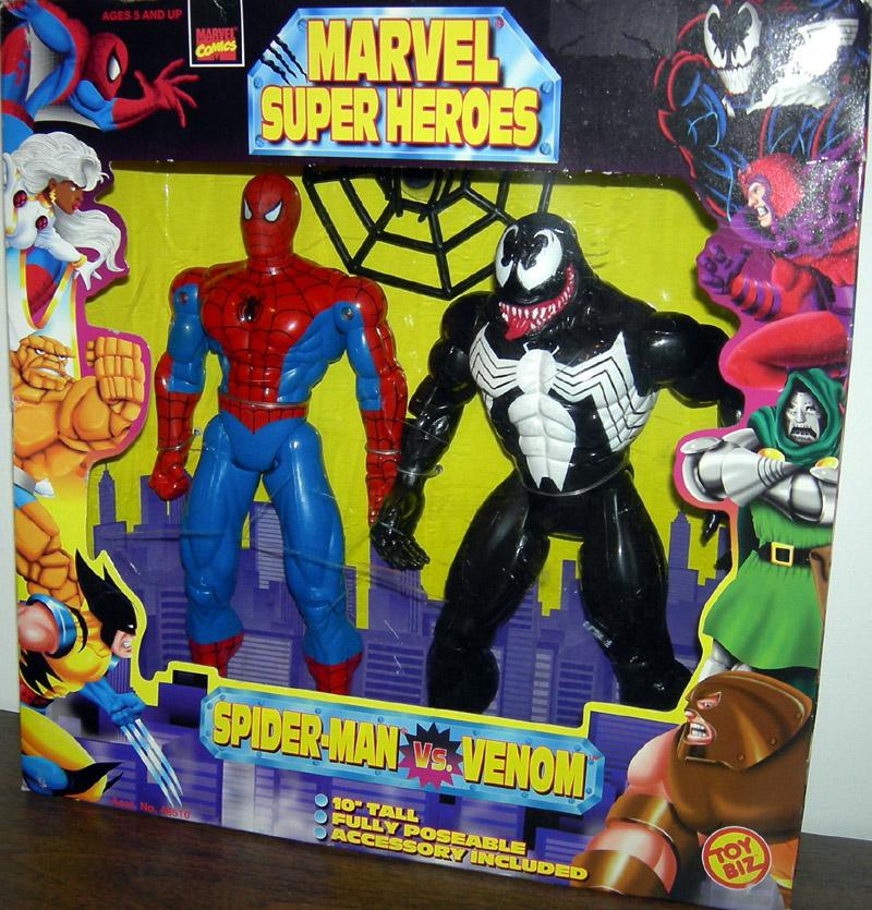 10 Inch Spider Man Vs Venom Marvel Super Heroes