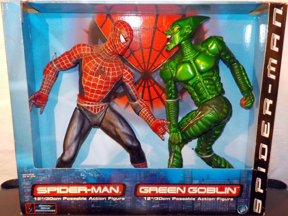 18 Inch Spider Man 2 Toy : Inch spider man vs green goblin action figures toy biz