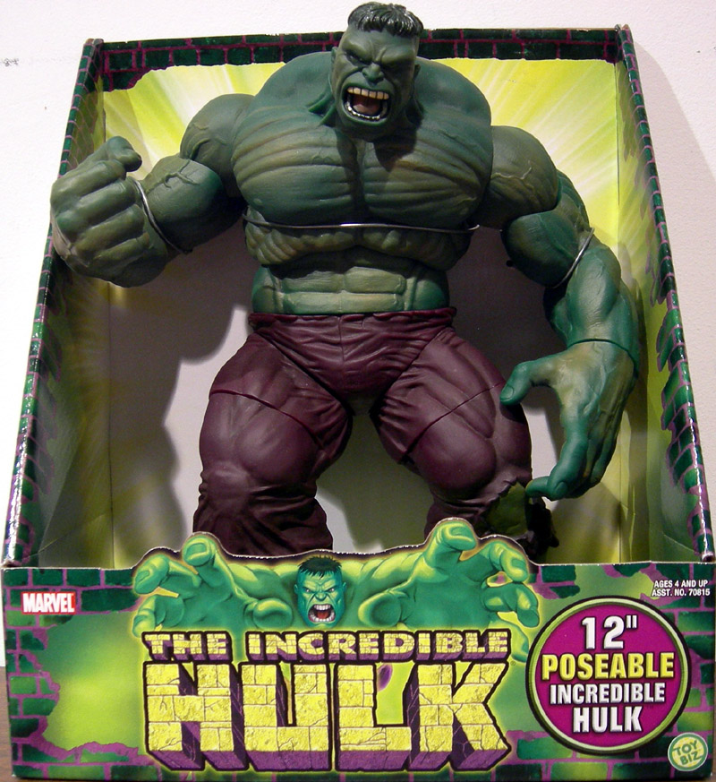 Marvel Select Incredible Hulk Action Figure Toy.