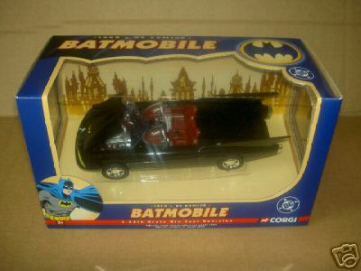1960s Batmobile, Corgi