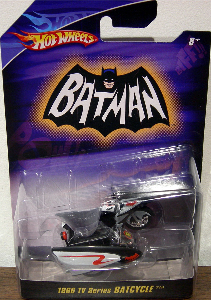 1966 TV Series Batcycle, 1-50th scale