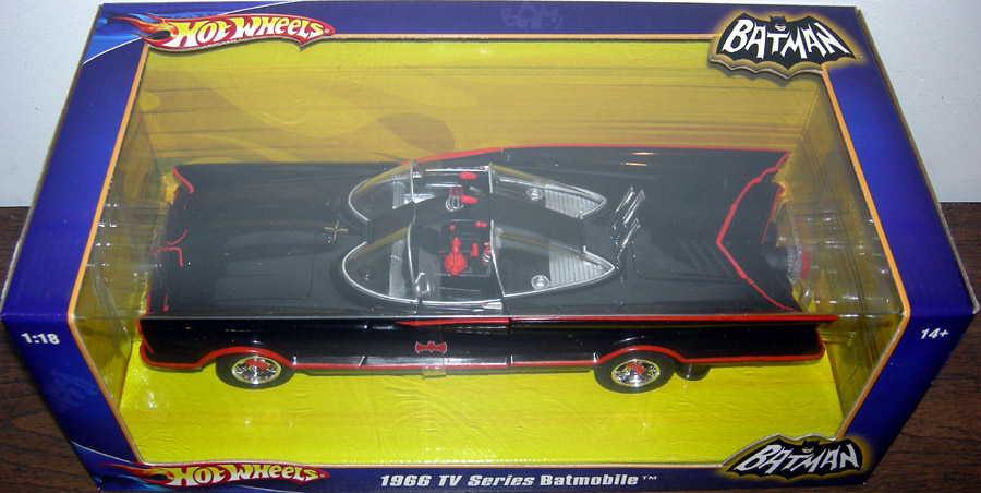 1966 TV Series Batmobile, 1-18th scale