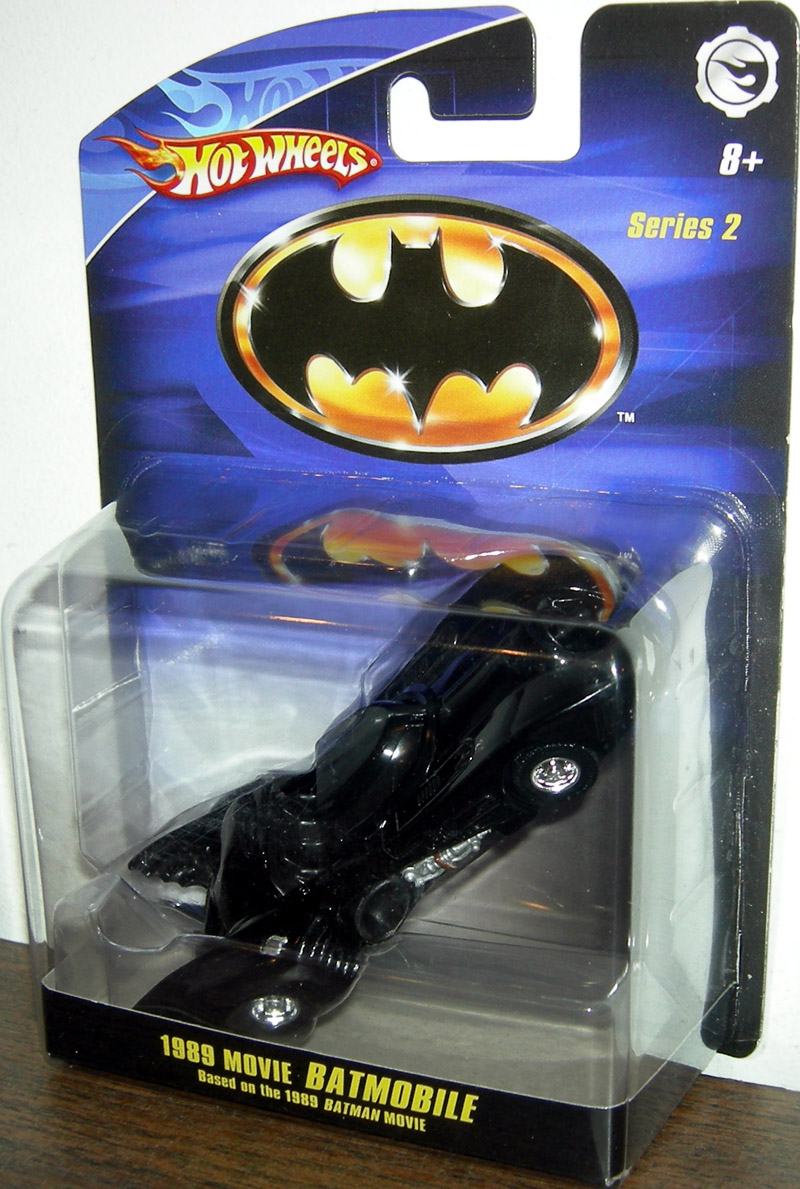 1989 Movie Batmobile (Batman Returns, 1:50th Scale