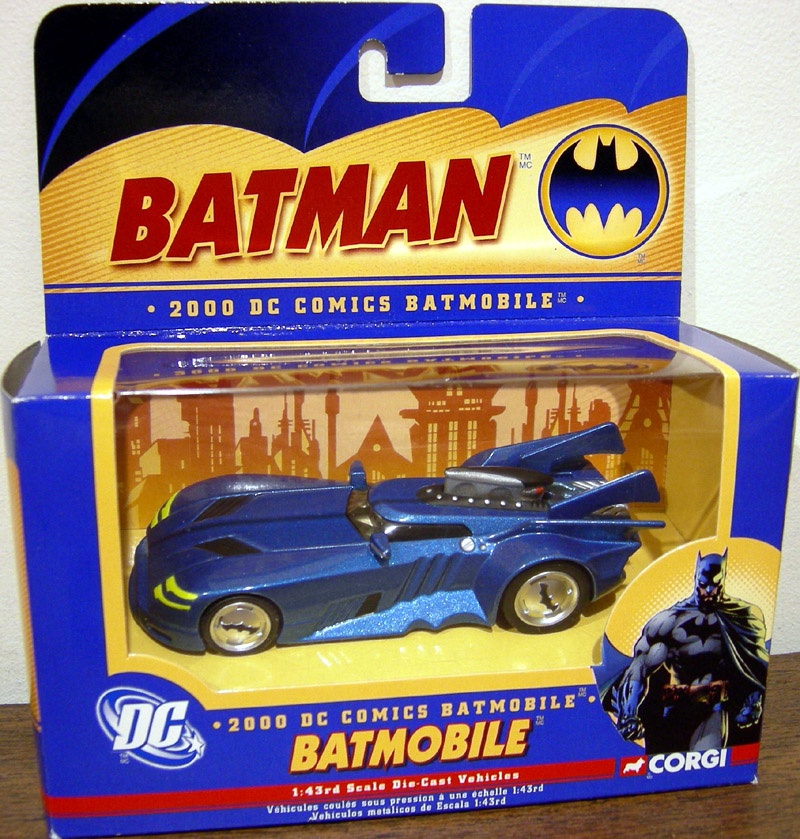 2000 Batmobile Bmbv4 Corgi