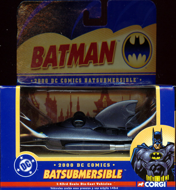 2000 Batsubmersible, 1-43rd scale die-cast