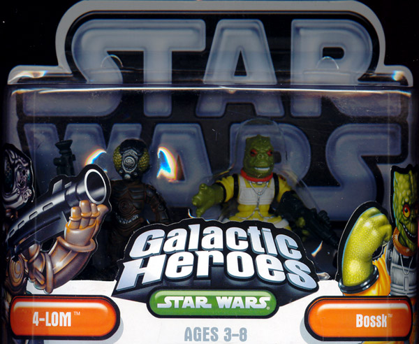 4-LOM and Bossk 2-Pack, Galactic Heroes