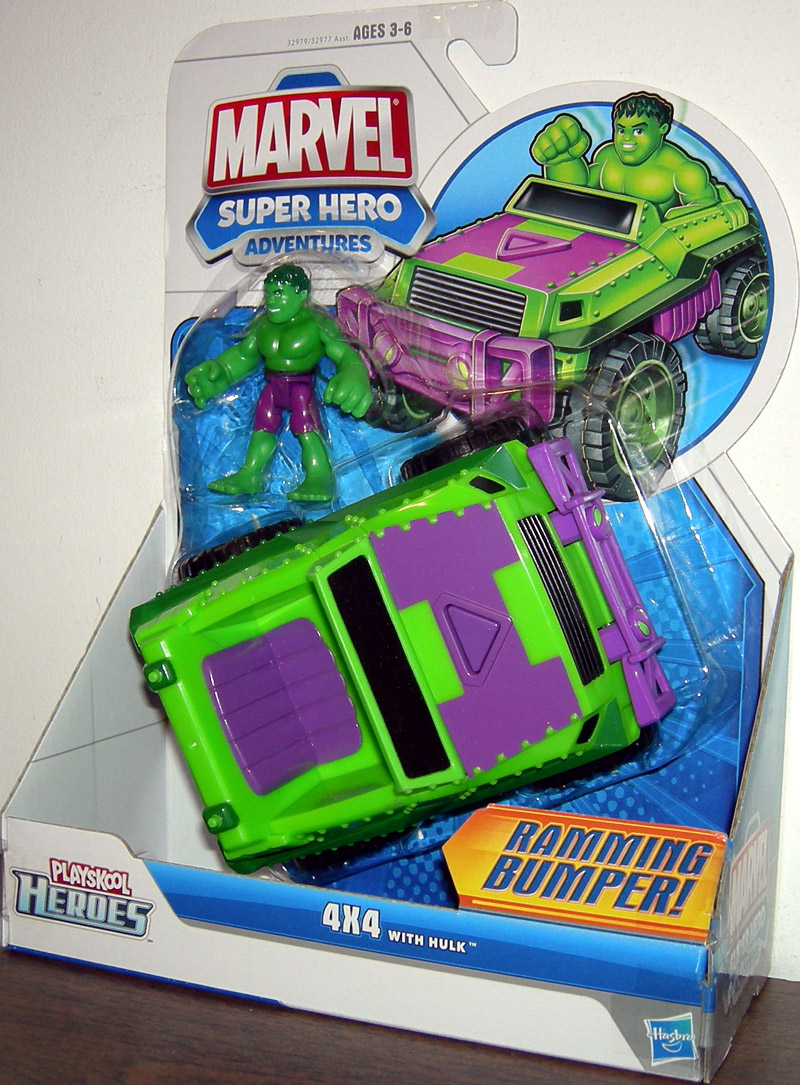 4X4 with Hulk, Playskool Heroes