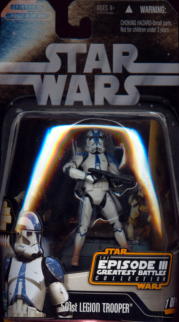 501st Legion Trooper, Episode III Greatest Battles Collection, 1 of 14