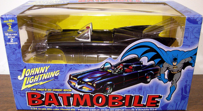 1960s Batmobile, model kit