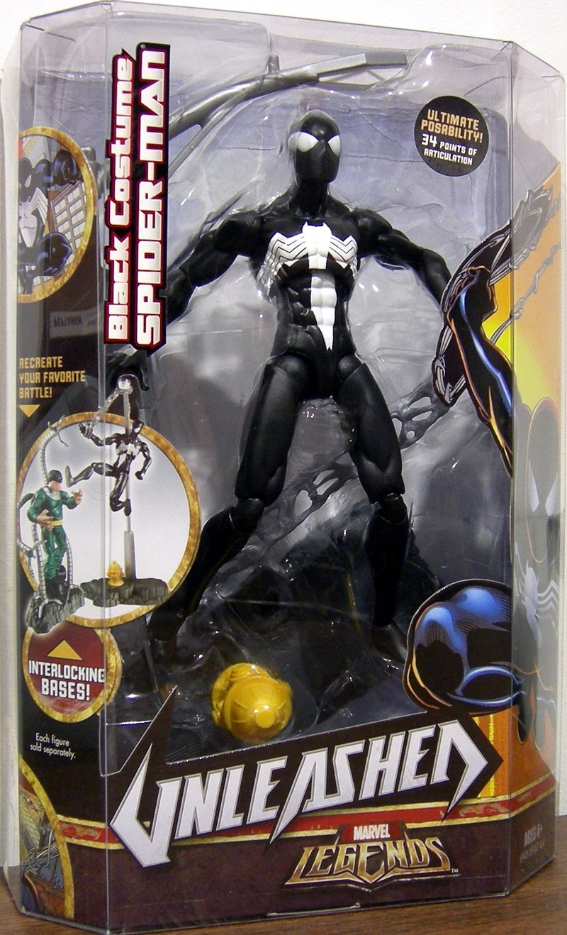Black Costume Spider-Man (Marvel Legends Unleashed)