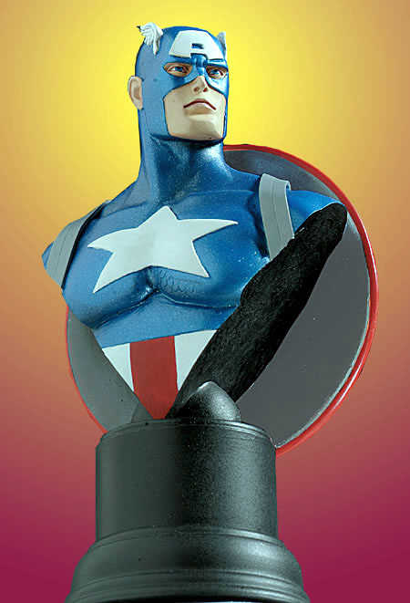 Bowen Designs Captain America Mini Bust