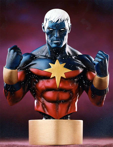 Bowen Designs Captain Marvel Mini Bust (Modern)