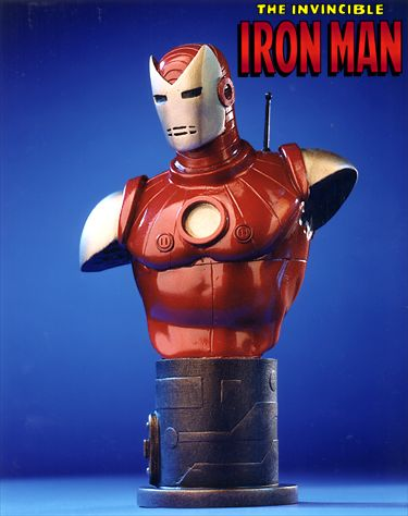 Bowen Designs Iron Man Mini Bust (Silver Age)