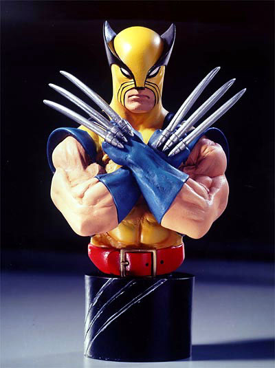 Bowen Designs Wolverine Mini Bust (Yellow)