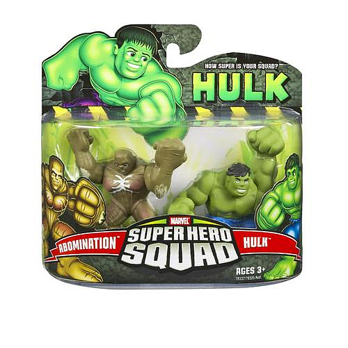 Abomination vs Hulk (Super Hero Squad)
