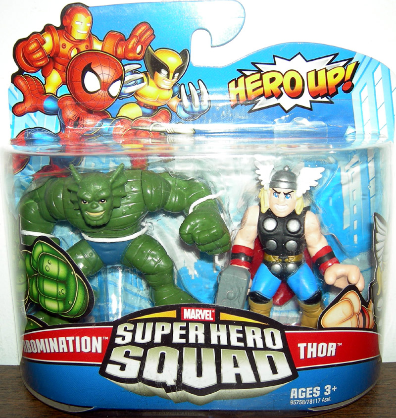 Abomination and Thor (Super Hero Squad)