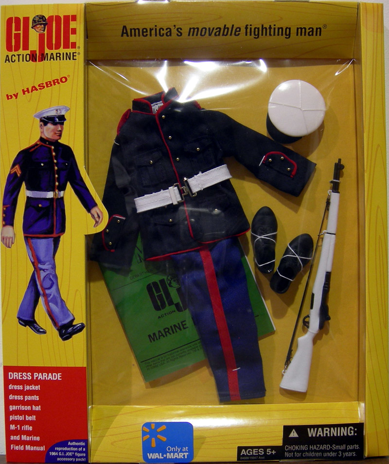 Action Marine Dress Parade equipment