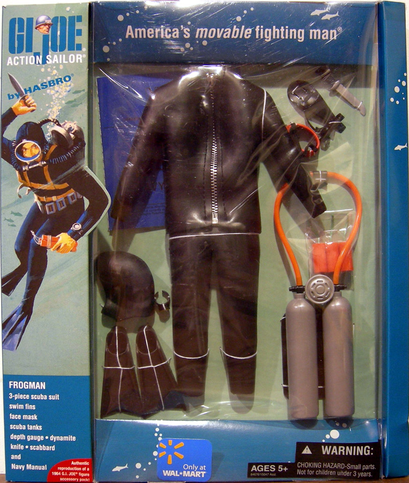 Action Sailor Frogman equipment