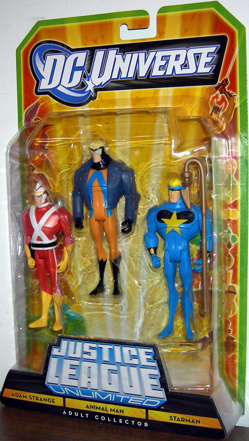 Adam Strange, Animal Man & Starman 3-Pack