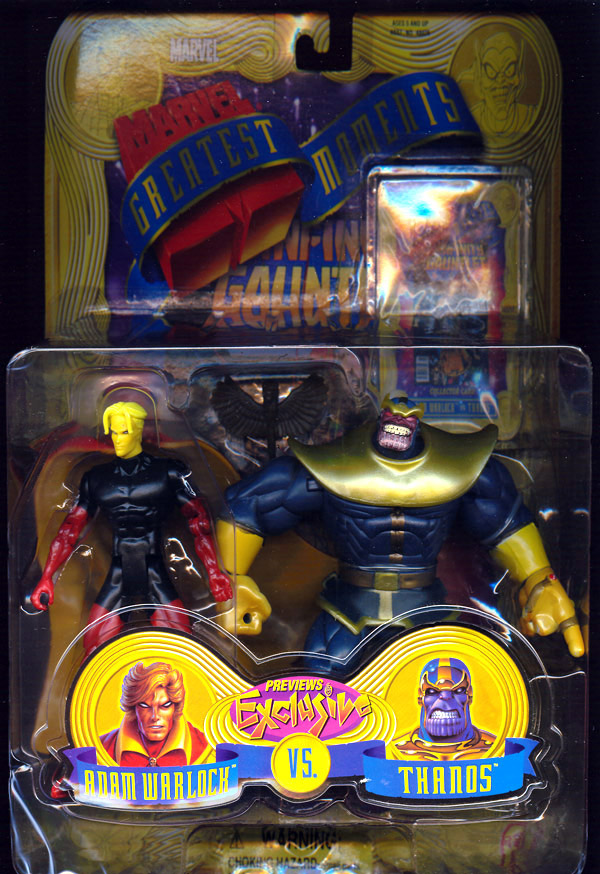 Adam Warlock vs. Thanos