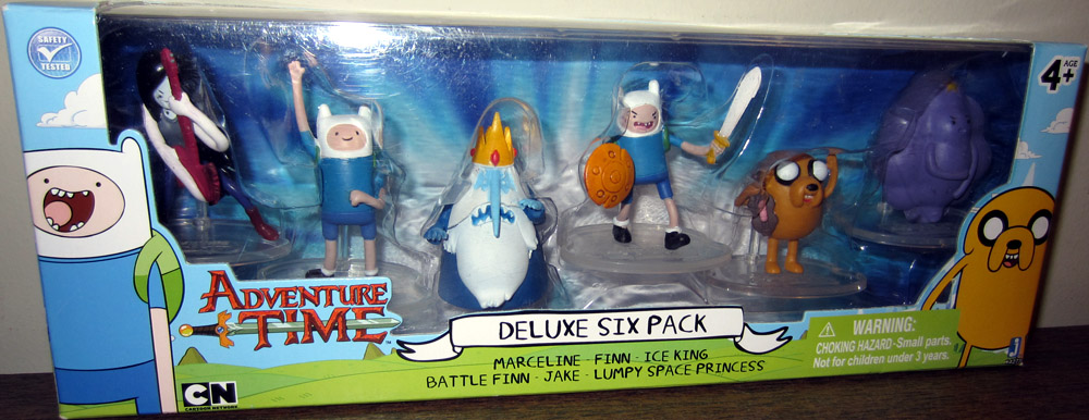 Adventure Time Deluxe Six Pack Figures Cartoon Network