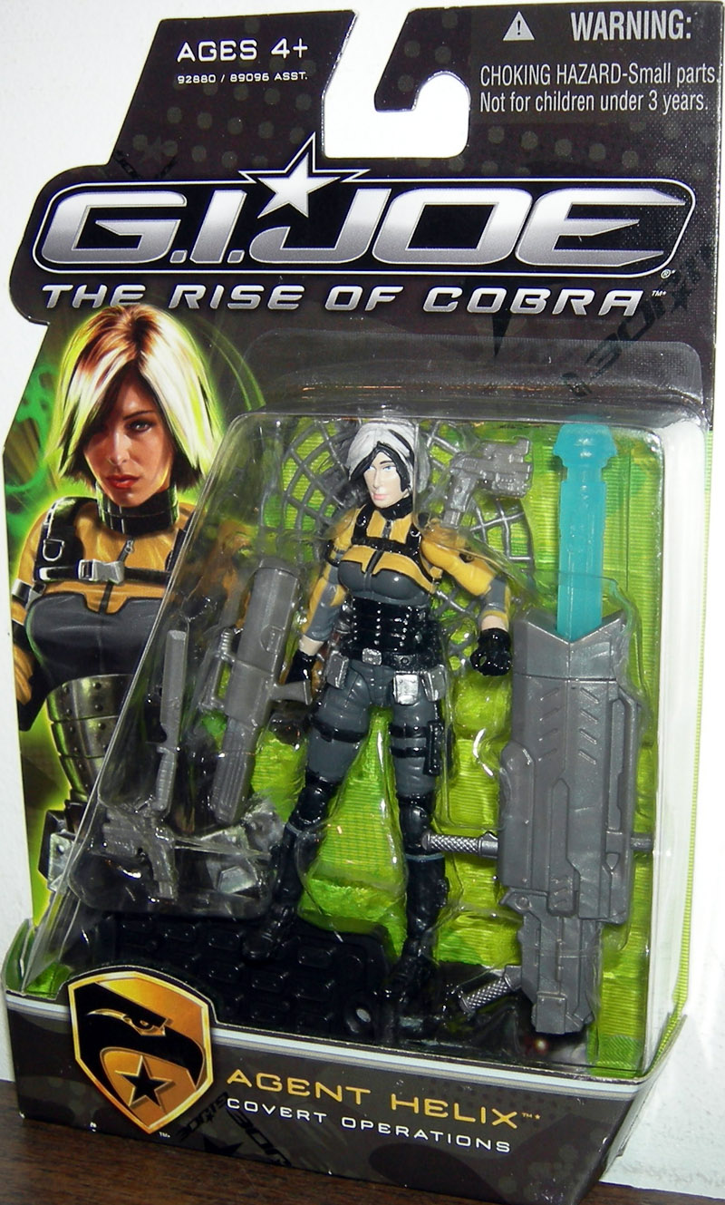 Agent Helix - Covert Operations (The Rise of Cobra)