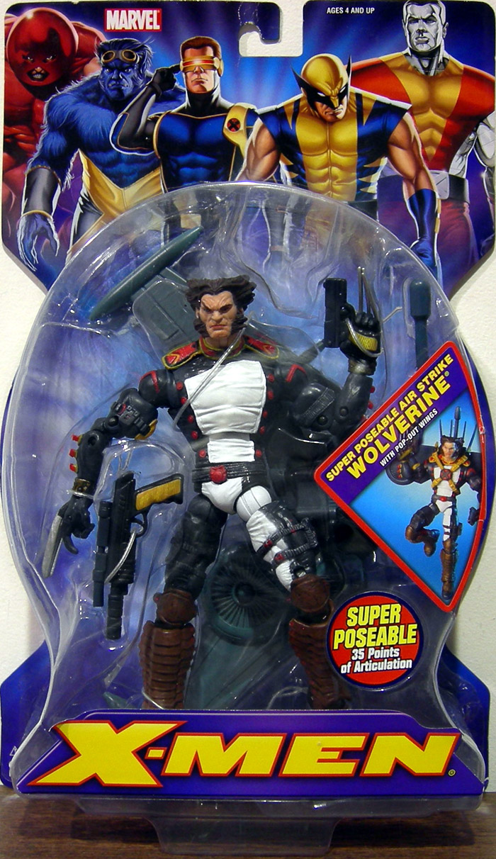 Super Poseable Air Strike Wolverine (X-Men)