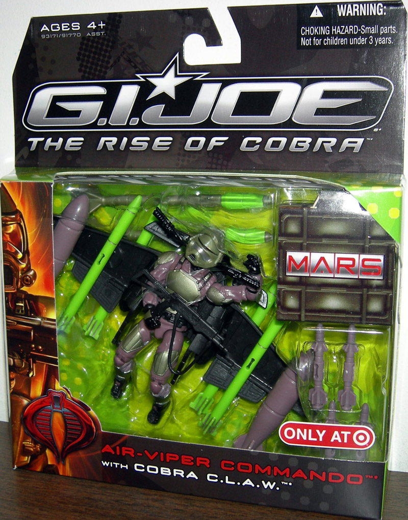 Air-Viper Commando with Cobra CLAW (The Rise of Cobra)