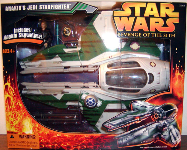 Anakins Jedi Starfighter (Revenge of the Sith, with figure)