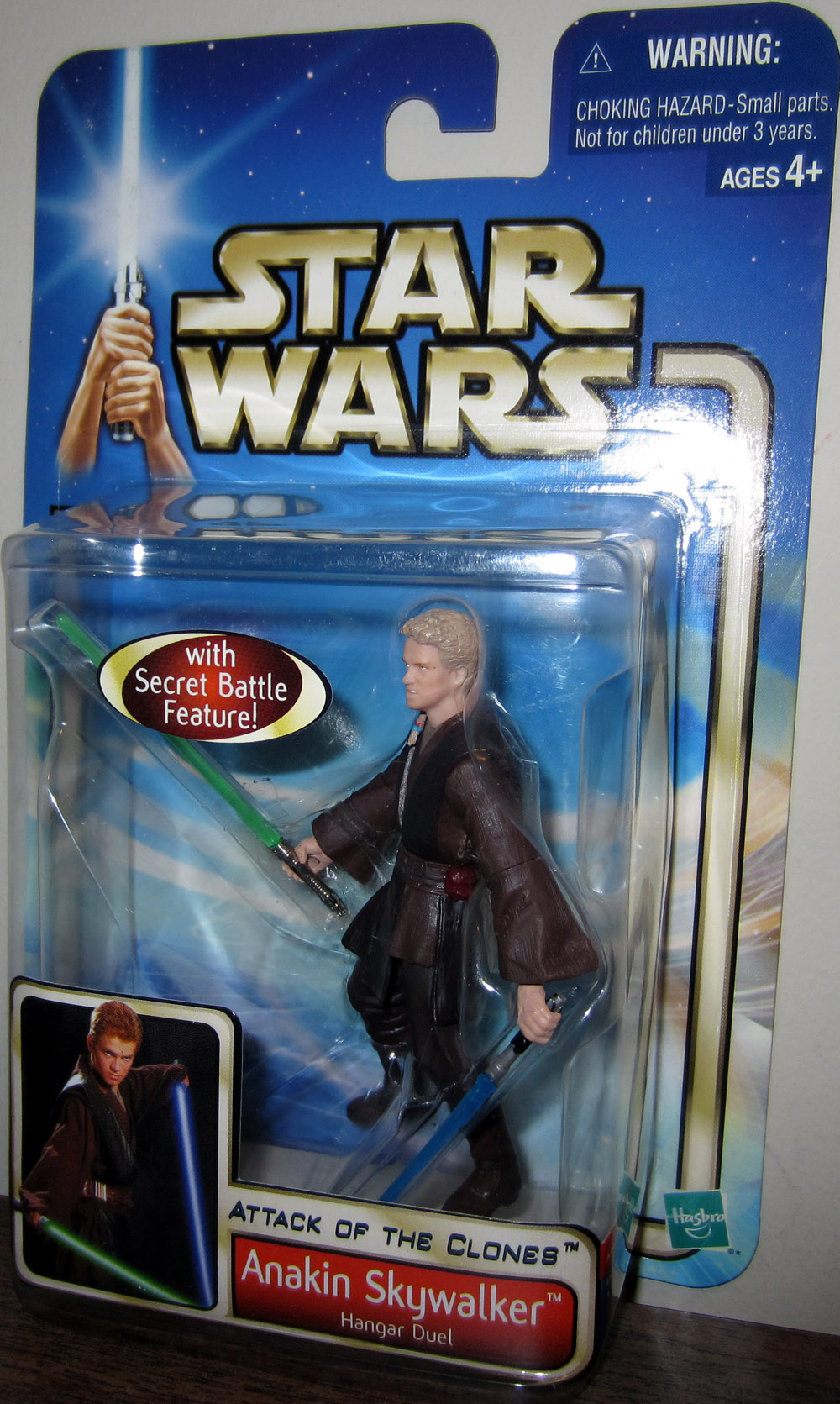 Star wars attack of the clones anakin action figure