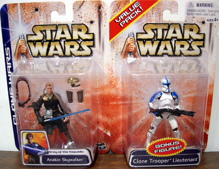 Anakin Skywalker & Clone Trooper Lieutenant 2-Pack