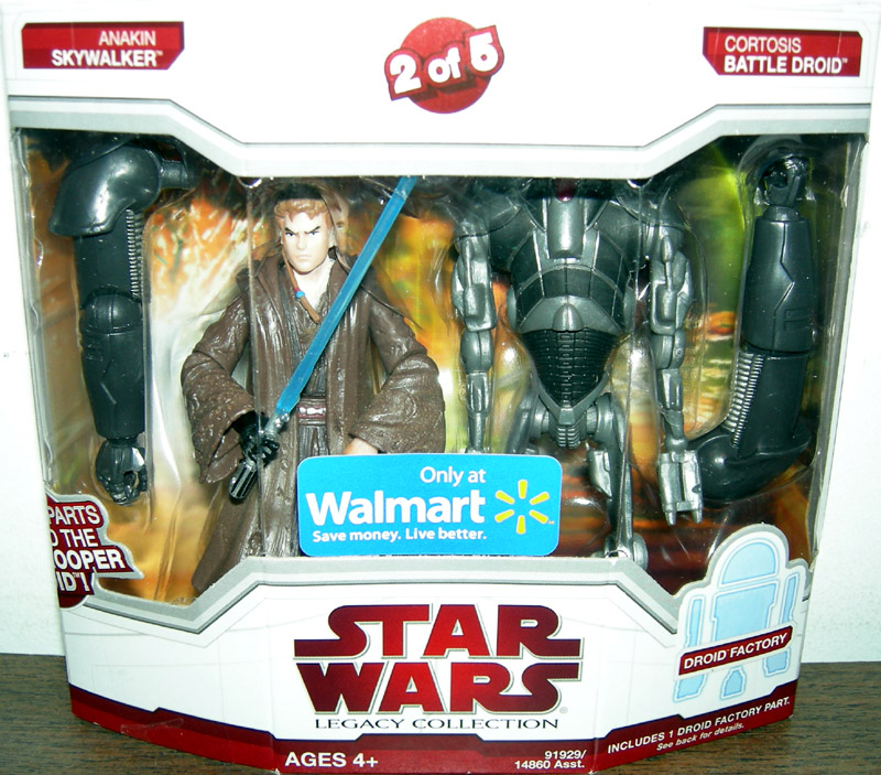 Anakin Skywalker and Cortosis Battle Droid (2 of 5)