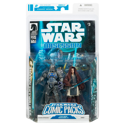 Anakin Skywalker and Durge (Comic Packs)
