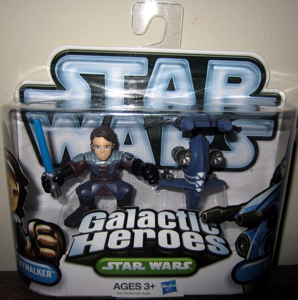 Star Wars Galactic Heroes Anakin Skywalker and STAP