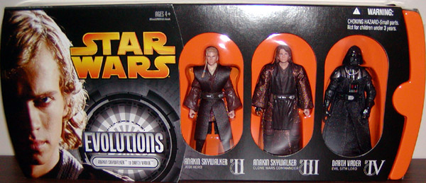 Anakin Skywalker to Darth Vader (Evolutions 3-Pack)