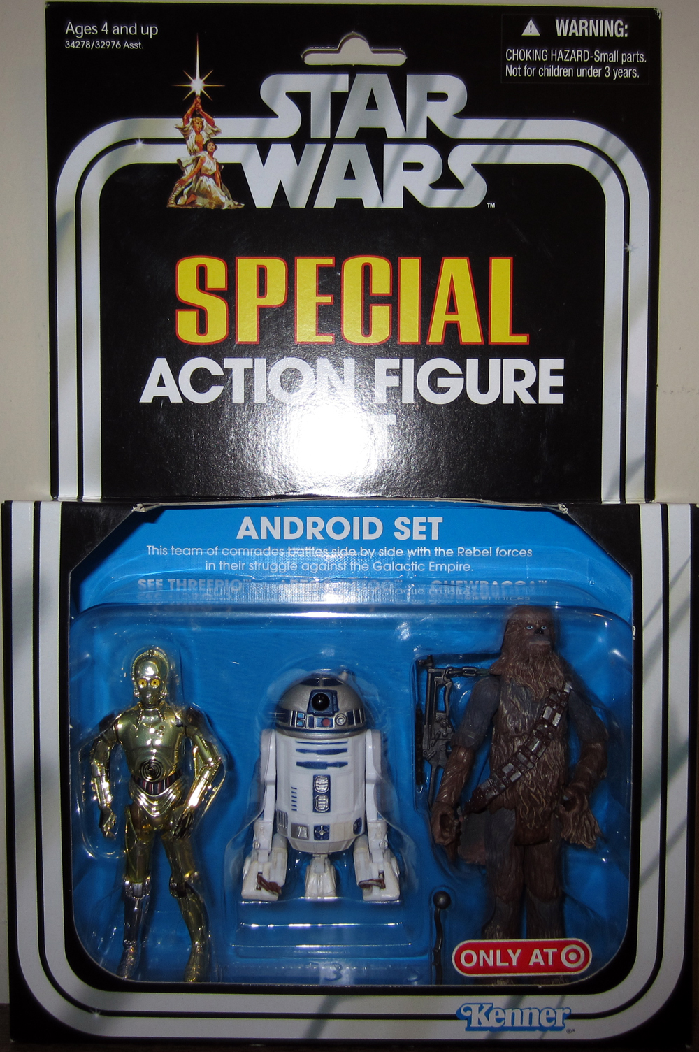Android Set 3-Pack (Target Exclusive)