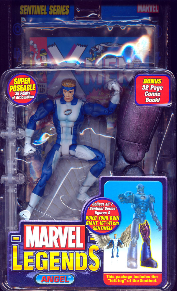 Angel (Marvel Legends, blue variant)