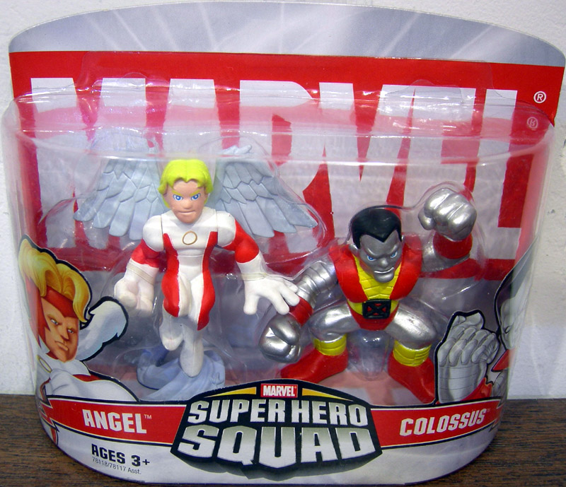 Angel and Colossus (Super Hero Squad)