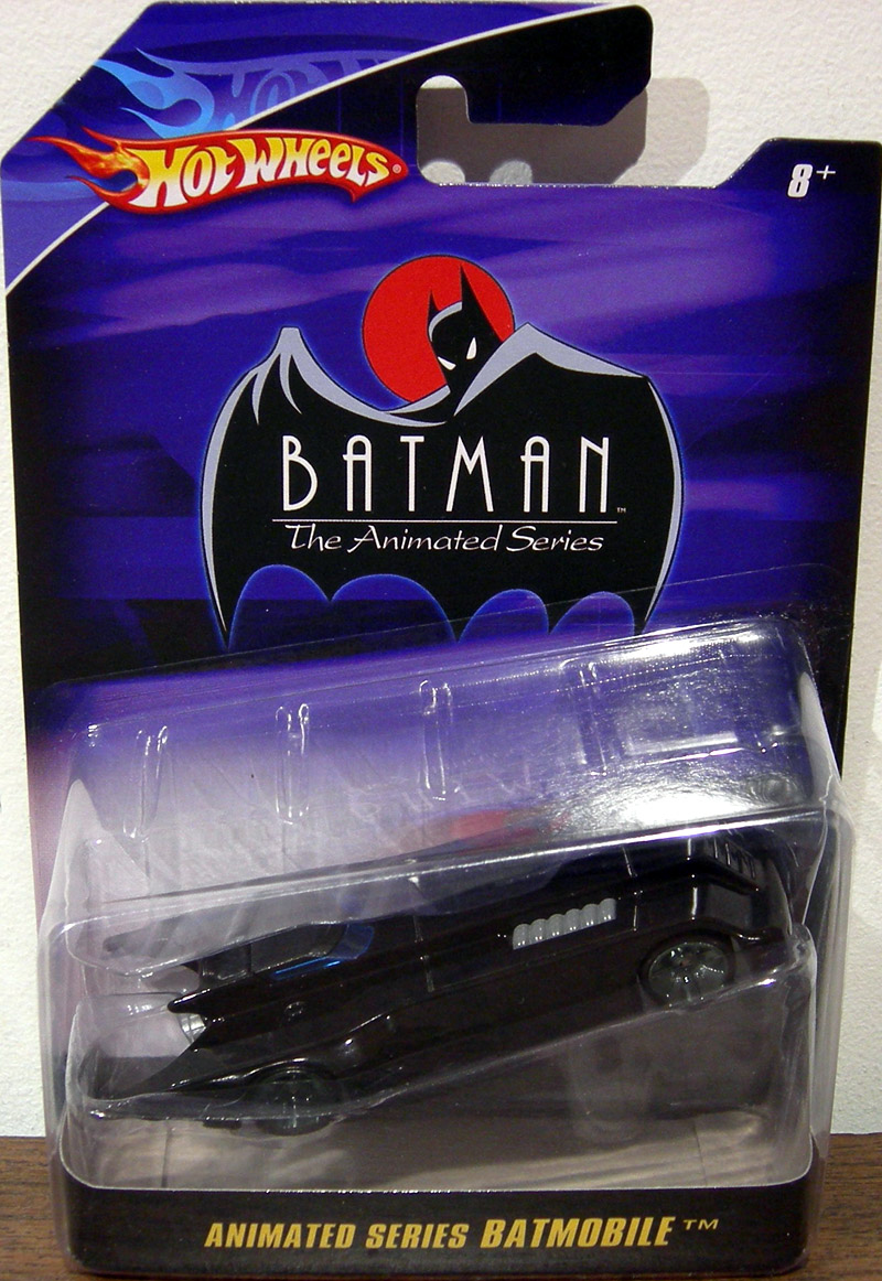 Animated Series Batmobile 1 50th Scale