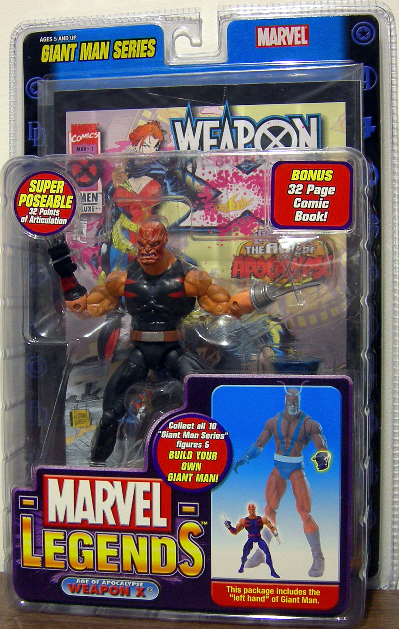 Age of Apocalypse Weapon X (Marvel Legends, variant)
