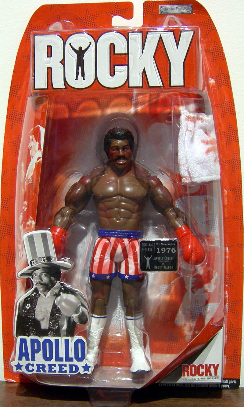 Apollo Creed (Rocky I, post fight)