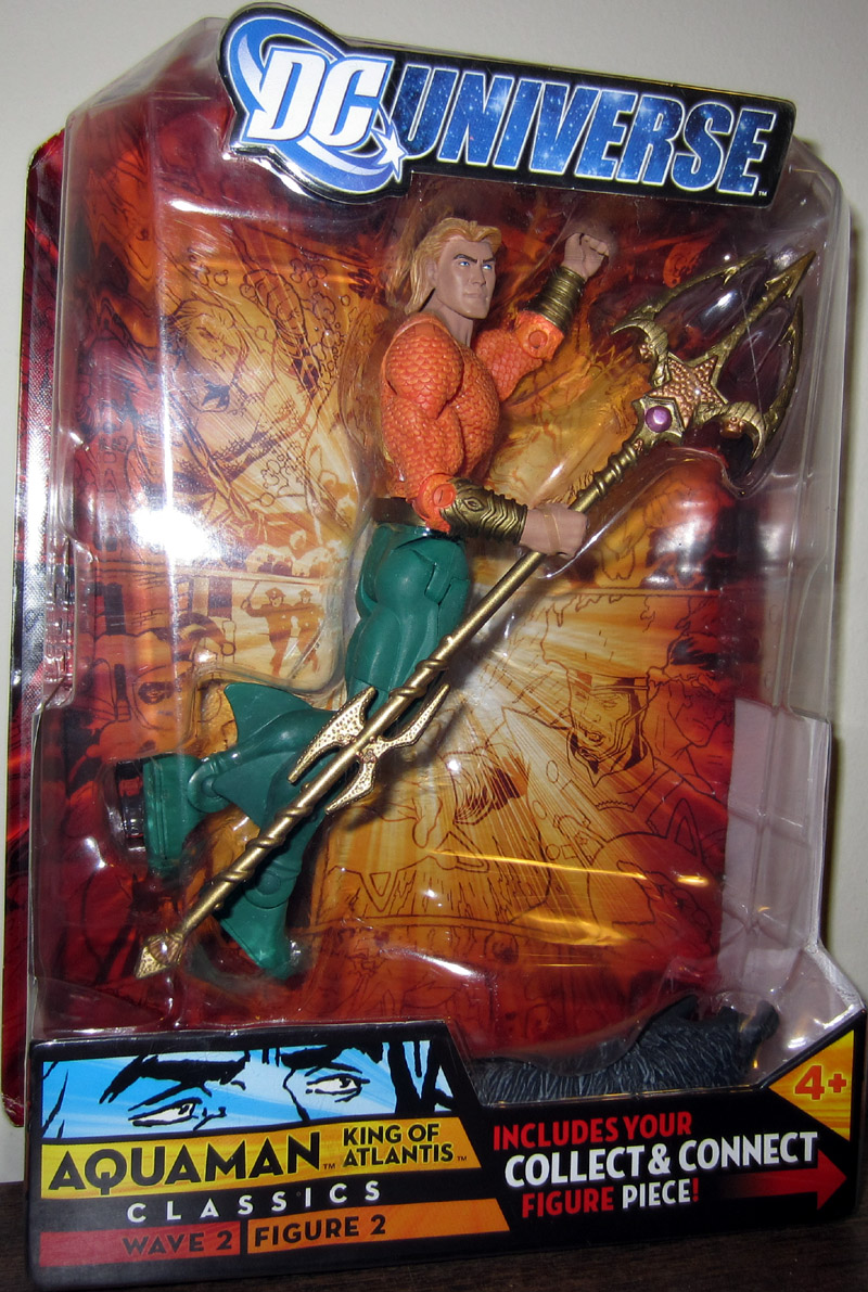 Aquaman King of Atlantis (DC Universe, long hair version)