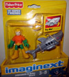Aquaman and Robo Shark (Imaginext)