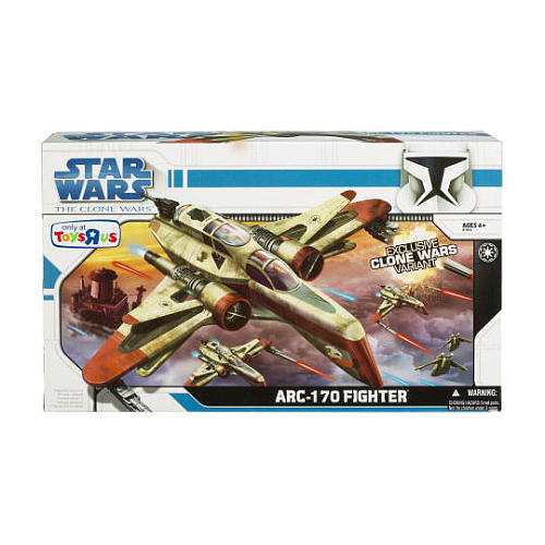ARC-170 Fighter (Toys R Us Exclusive)