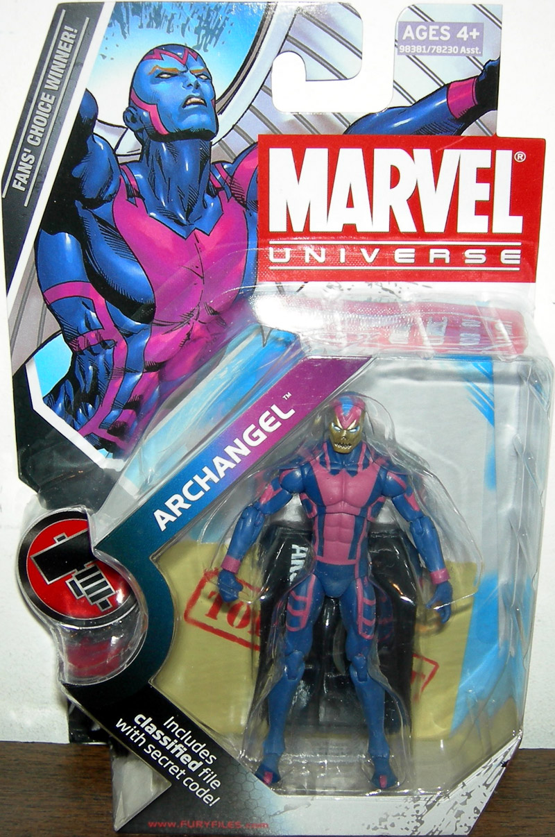 Archangel Death Variant (Marvel Universe, series 2, 015)