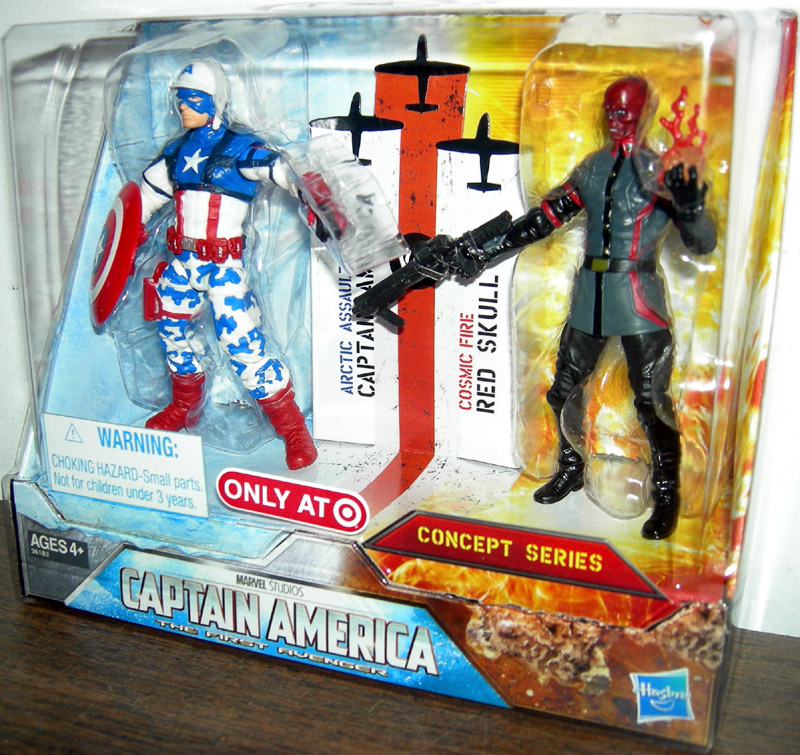 Arctic Assault Captain America & Cosmic Fire Red Skull (Target Excl.)