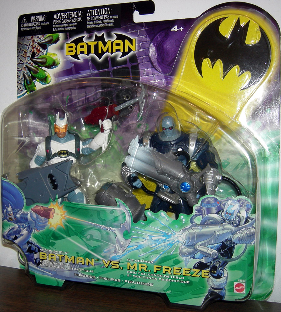 Arctic Shield Batman vs. Ice Cannon Mr. Freeze 2-Pack