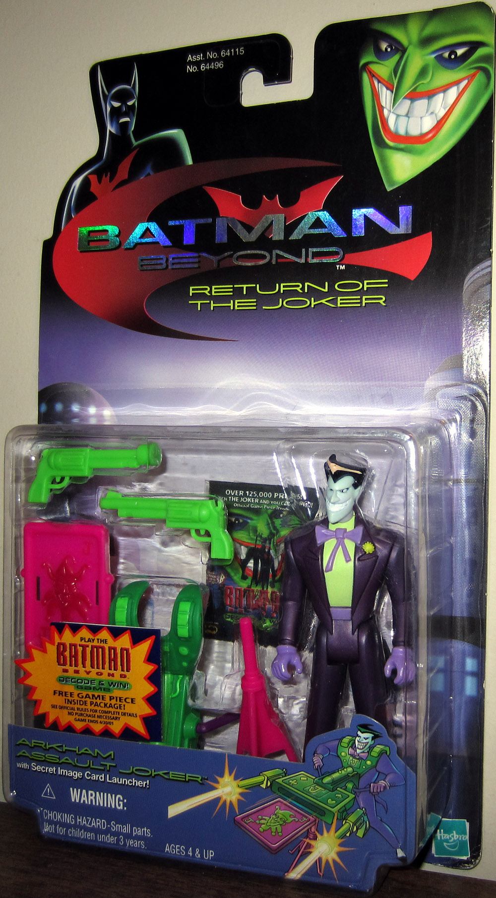 Arkham Assault Joker (Batman Beyond, Return of the Joker)