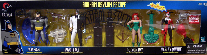 Arkham Asylum Escape 4-Pack (The New Batman Adventures)
