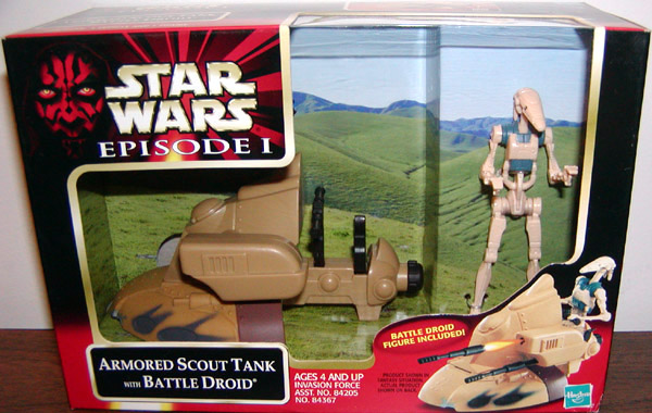 Armored Scout Tank with Battle Droid (.0100)